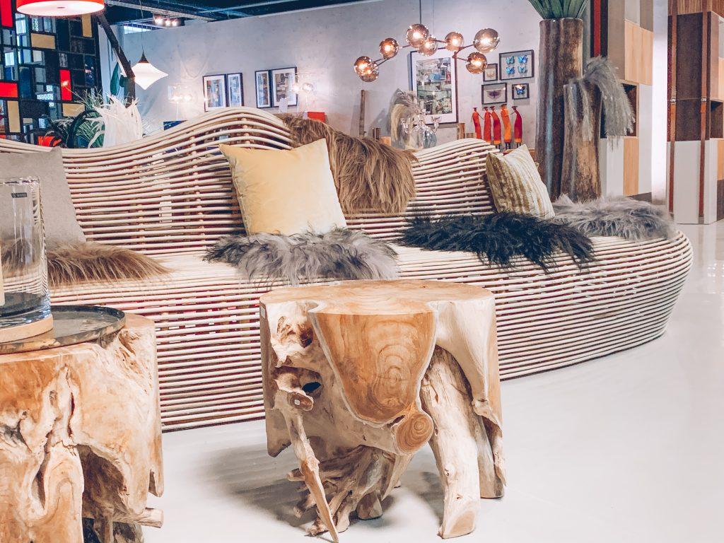 Meubles tendances matériaux recyclés JN interiors jour et nuit interiors