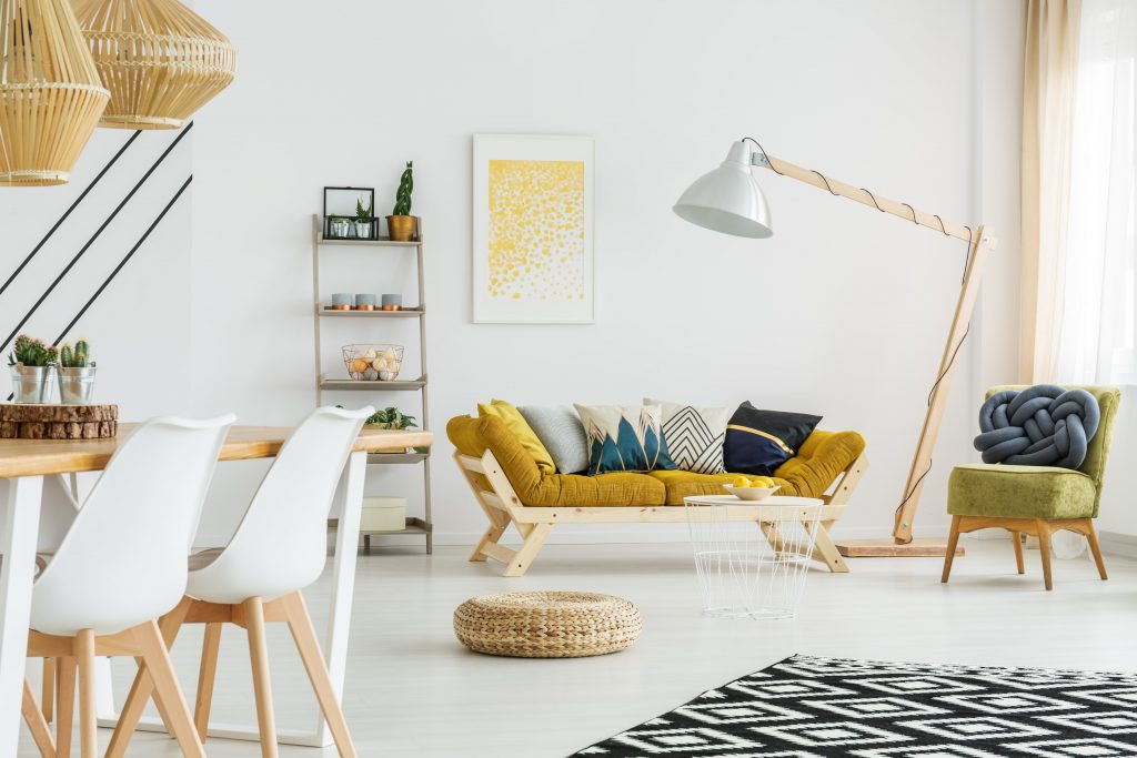 Salon séjour tendance maison 2020