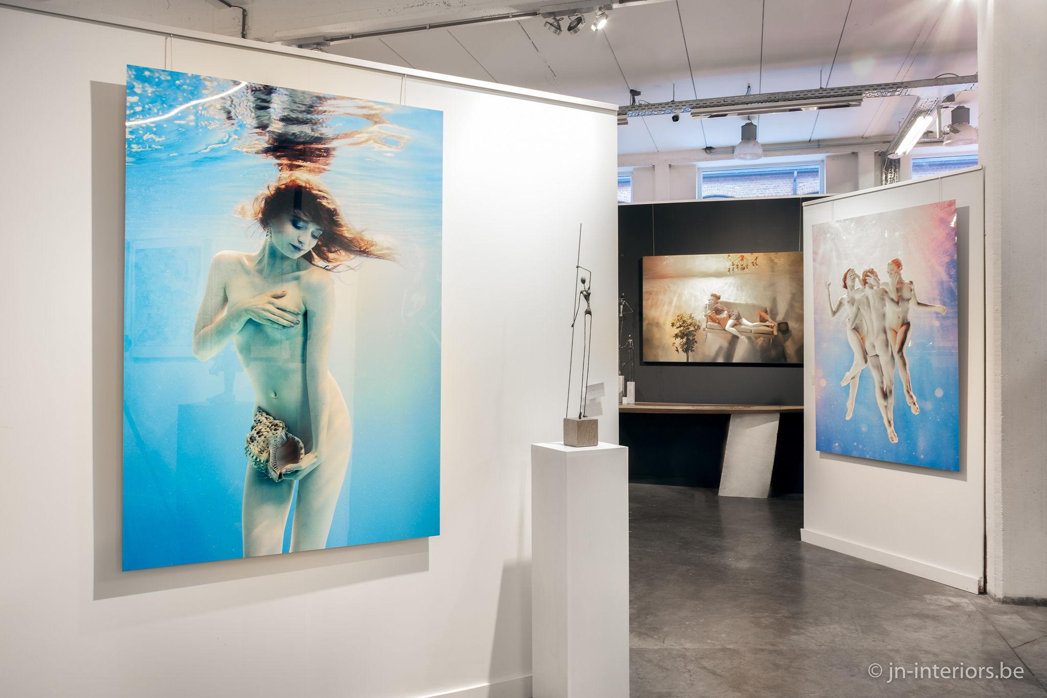 photographe belge, harry fayt, exposition d'art, jn interiors, magasin de décoration, oeuvre d'art, jour et nuit liège verviers