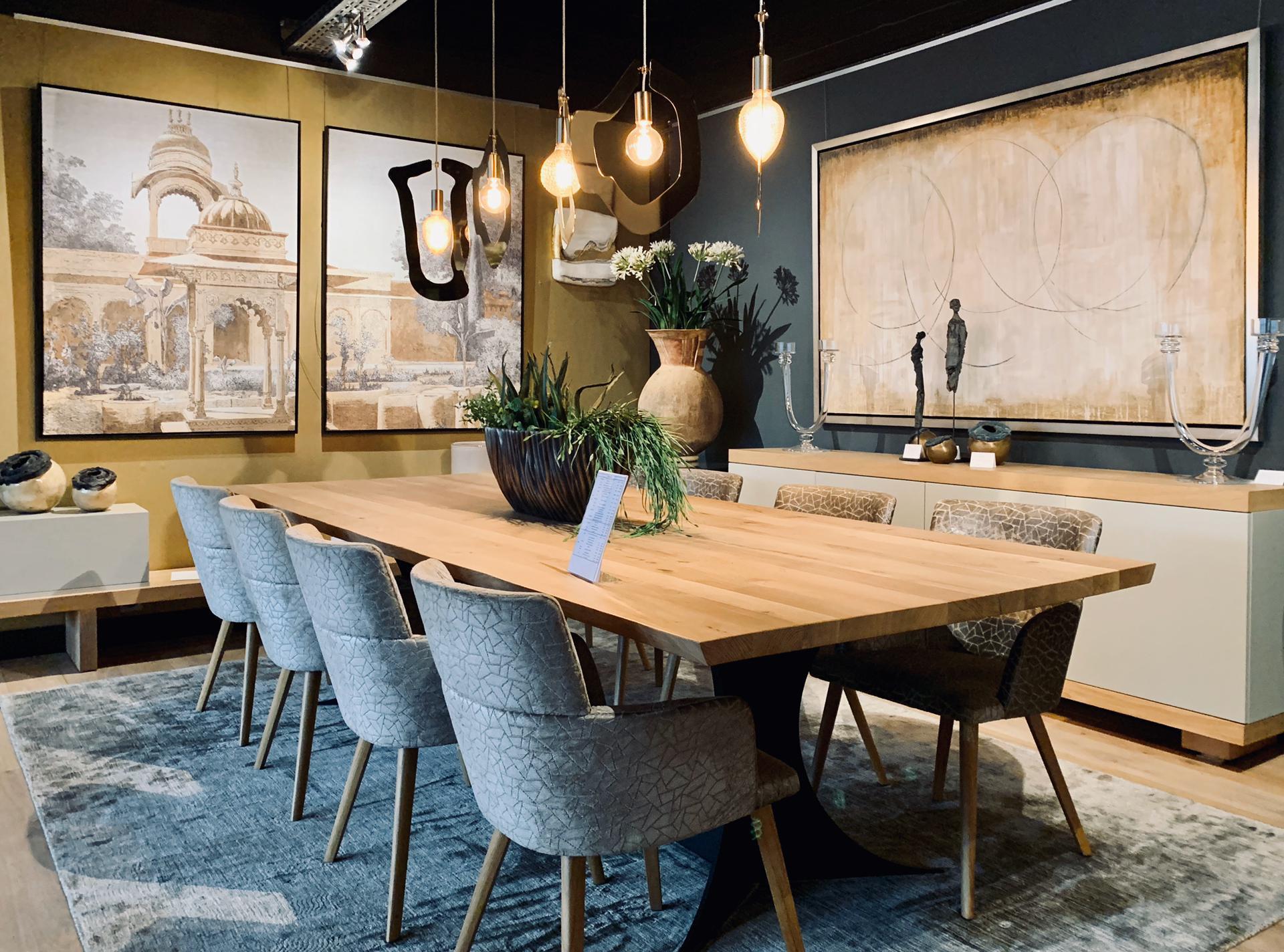 salle à manger luxe, belgique, jn interiors, jour et nuit interiors verviers liege