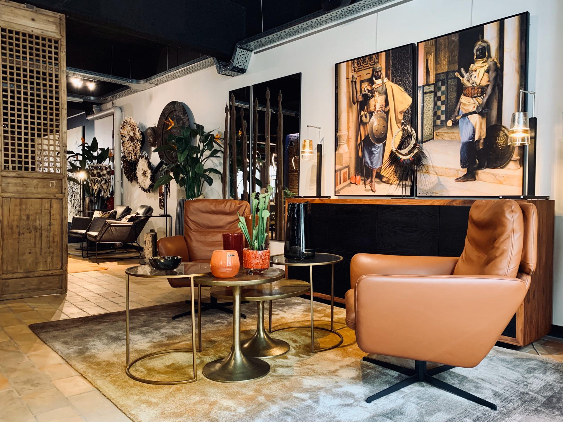 coin lecture, meubles en cuir, magasin de décoration intérieure, jn interiors, jour et nuit