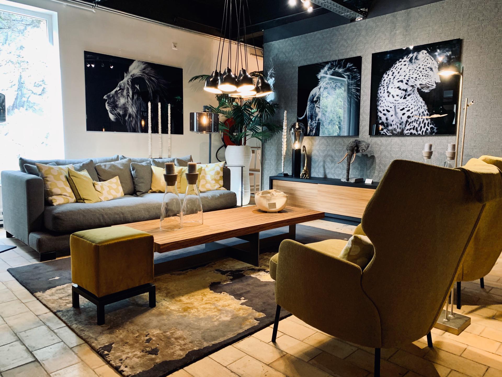 salon canapé divan, cadres luxe, décoration intérieure, jn interiors, jour et nuit liège verviers